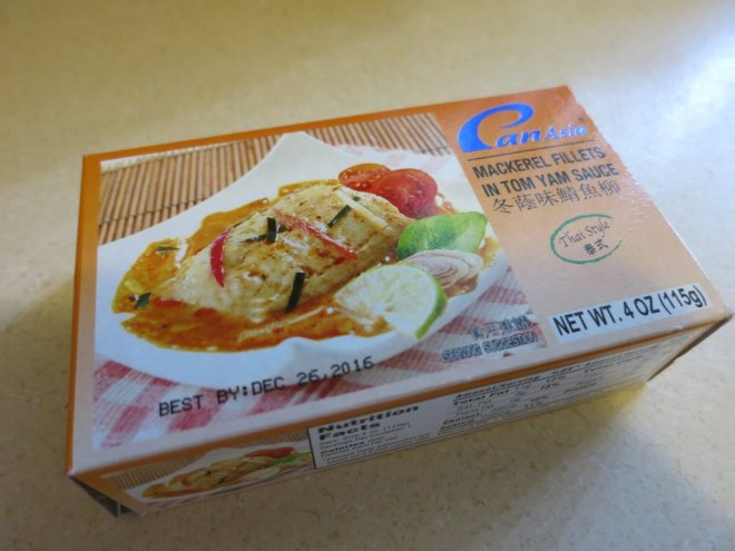 Notes on a Tinned Fish - Mackerel Fillets in Tom Yam Sauce